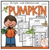 Pumpkin Life Cycle Math and Literature plus Craft