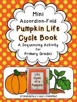 Pumpkin Life Cycle Activity ~ Accordion Fold Mini-Book