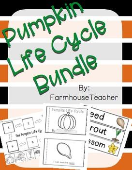 Pumpkin Life Cycle Activity Bundle