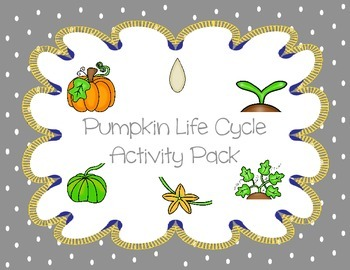 Pumpkin Life Cycle Activity Pack
