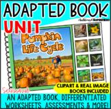 Pumpkin Life Cycle Adapted Book