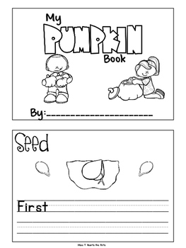Pumpkin Life Cycle Book:  Target Pumpkin Books