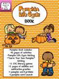 Pumpkin Life Cycle Book:  Target Pumpkin Books