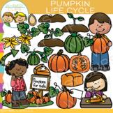 Pumpkin Life Cycle Clip Art