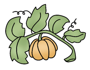 Pumpkin Life Cycle Clip Art - Whimsy Workshop Teaching