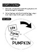 Pumpkin Life Cycle Cut and Glue Spinner