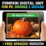 Pumpkin Life Cycle Digital Activities for Google and Seesa