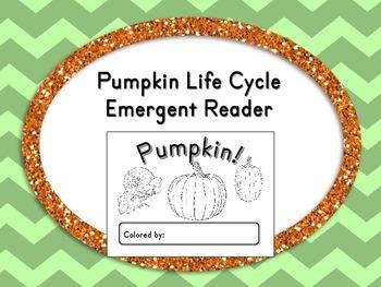 Pumpkin Life Cycle Emergent Reader Book