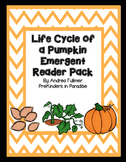 Pumpkin Life Cycle Emergent Reader Pack