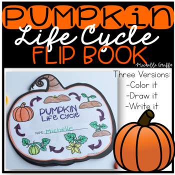 Pumpkin Life Cycle Flip Book