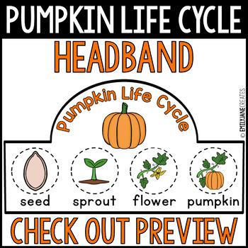 Pumpkin Life Cycle Headband