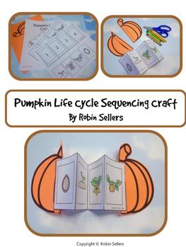 Pumpkin Life Cycle {Life Cycle of a Pumpkin Sequencing Card Craft}