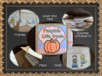 The Life Cycle of a Pumpkin - Brown Bag Book