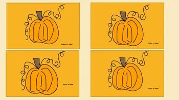 Pumpkin Life Cycle Matching