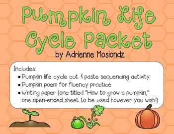 Pumpkin Life Cycle Packet