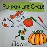 Pumpkin Life Cycle Reader and Activites
