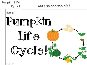 Pumpkin Life Cycle - Text Evidence Lesson - Read, Cite Evidence, and Write!
