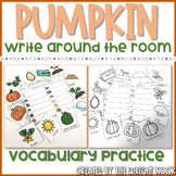 Pumpkin Life Cycle Vocabulary Write The Room