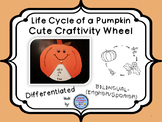 Pumpkin Life Cycle Wheel Craftivity {BILINGUAL - CUTE!}