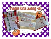 Pumpkin Life Cycle and Patch Fun in Preschool and Kindergarten