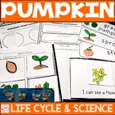 Pumpkin Life Cycle and Candy Pumpkin Science Activity