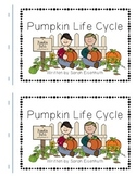 Pumpkin Life Cycle predictable text book FREEBIE