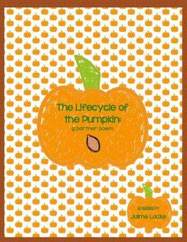 Pumpkin Lifecycle Partner Poem