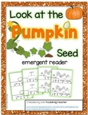 """Pumpkin Lifecycle emergent reader: """"Look at the Pumpkin Seed"""""""