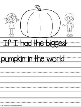Pumpkin Literacy Activities