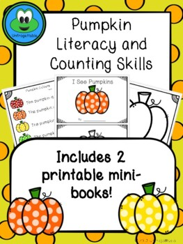 Pumpkin Literacy and Counting Activities