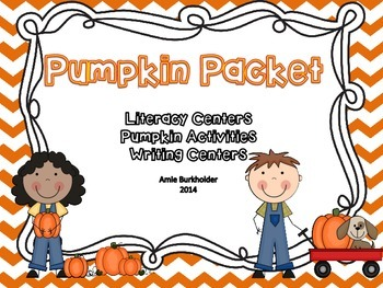 Pumpkin Literacy and More