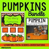 Pumpkin Literature, Math & Science Inquiry Bundle