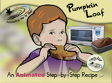 Pumpkin Loaf - Animated Step-by-Step Recipe - Regular