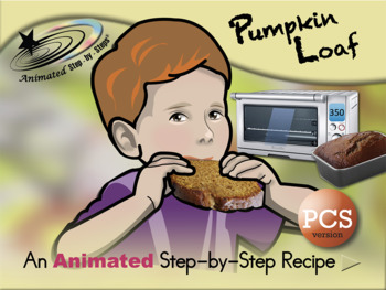 Pumpkin Loaf - Animated Step-by-Step Recipe PCS