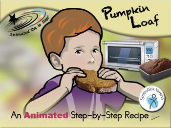 Pumpkin Loaf - Animated Step-by-Step Recipe SymbolStix