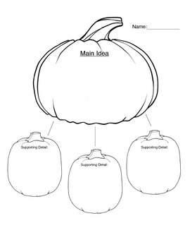 Pumpkin Main Idea with details