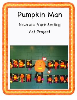 Pumpkin Man: Noun and Verb Sorting