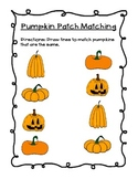 Pumpkin Matching