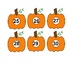 Preschool Pumpkin Matching Bundle