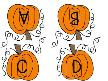 Pumpkin Matching Fun