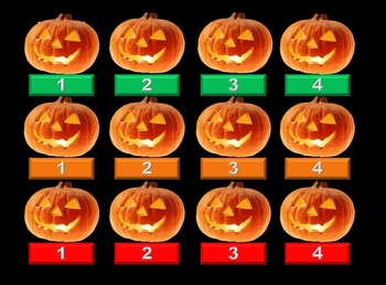 Pumpkin Matching Game PPT