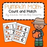 Pumpkin Math-Counting to 10