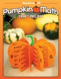 Pumpkin Math: Fall Craft Project