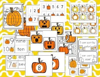 Pumpkin Math Activites