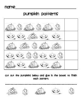 Pumpkin  Math Activities!