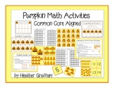 Pumpkin Math Activities Common Core Aligned