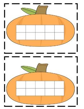 Pumpkin Math Activities- Great for Fall or Halloween