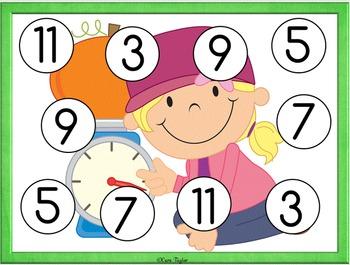 Pumpkin Math Activities Unit