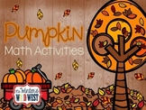 Pumpkin Math Activities for Upper Elementary