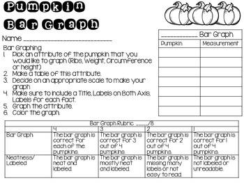 Pumpkin Math Activities for Upper Elementary